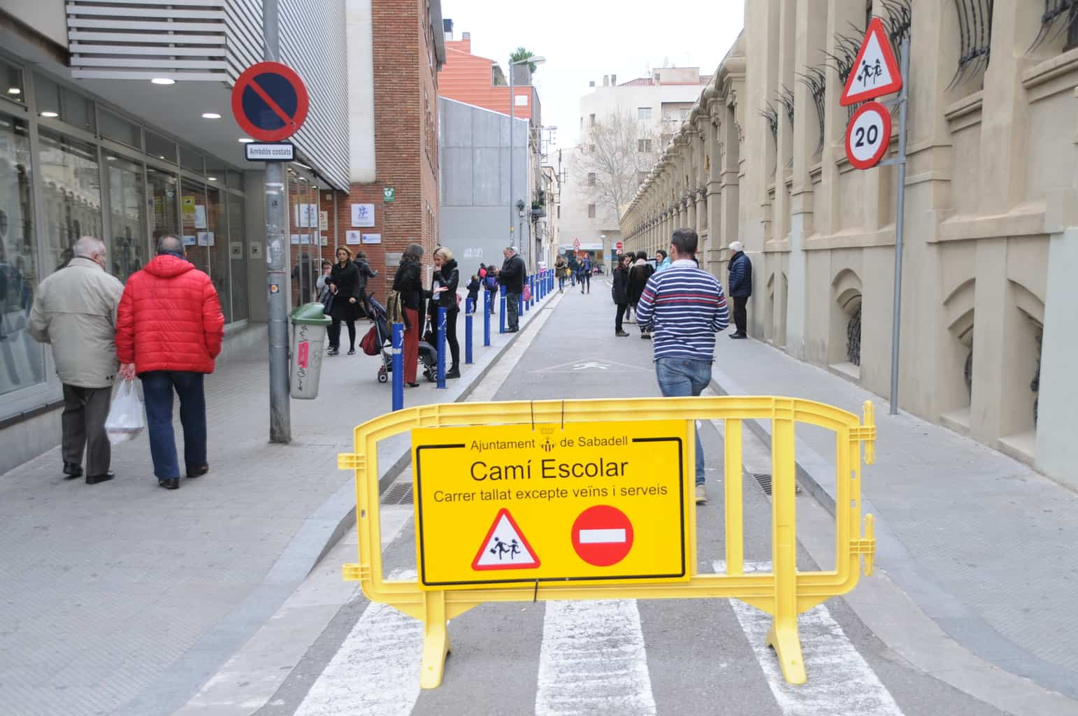 Més seguretat en els camins escolars: ajut de 500 mil euros per accions de mobilitat
