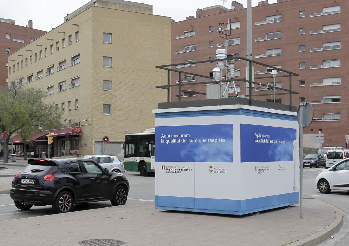 Els nivells de contaminació de l'aire es mantenen estables a la ciutat