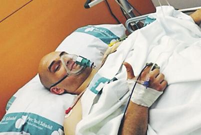 David fue operado de urgencia la misma mañana del hecho
