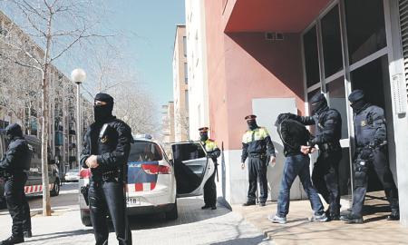 Las detenciones se realizaron a principios de abril