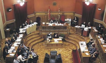 El juicio, que está visto para sentencia, tuvo lugar en la Audiencia de Barcelona