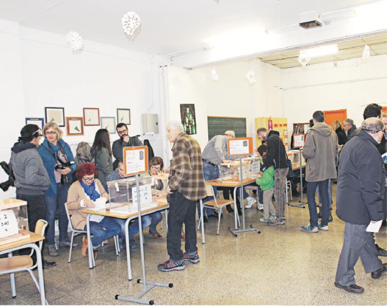 Les urnes es distribuiran entre les 255 meses dels 57 col·legis electorals que obriran les seves portes diumenge