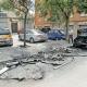 El foc afecta nou cotxes aparcats
