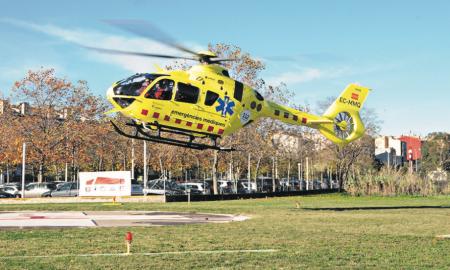 Les noves aeronaus són del model AirbusH135 i permeten el vol nocturn
