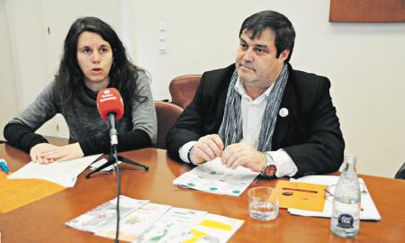 Presentació dels resultats i de la campanya amb Ferràndiz (Drets Civils) i Vidal (Salut)