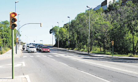 Zona donde los conductores compitieron excediendo la velocidad máxima permitida