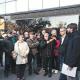 Un centenar de persones han donat suport a Guillem Fuster davant dels Jutjats de Sabadell