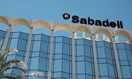 La seu del Banc Sabadell a Madrid