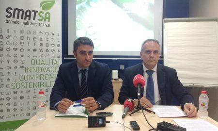 Gerard Jori i Eugenio Díaz, aquest dilluns. Foto: A. P.