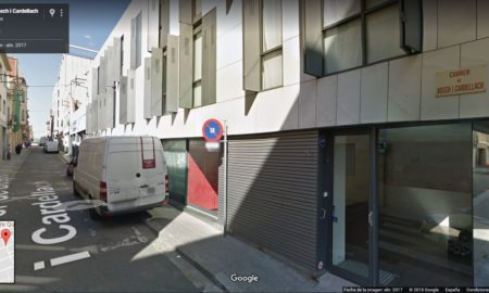 El tram que quedarà tallat a les 9:30 h. Foto: Google Maps.