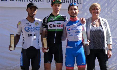 Imatge del podi del Campionat de Sabadell