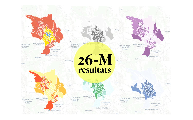 63e5323b5f MAPES: Consulta els resultats del 26-M a Sabadell, carrer per carrer
