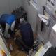 Els detinguts pels Mossos, atracant després de fer butrons / MOSSOS