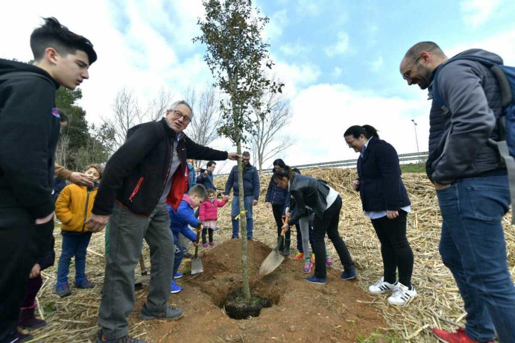 La 12a Festa del Parc Agrari de Sabadell i la 13a Festa de l'Arbre de la UES