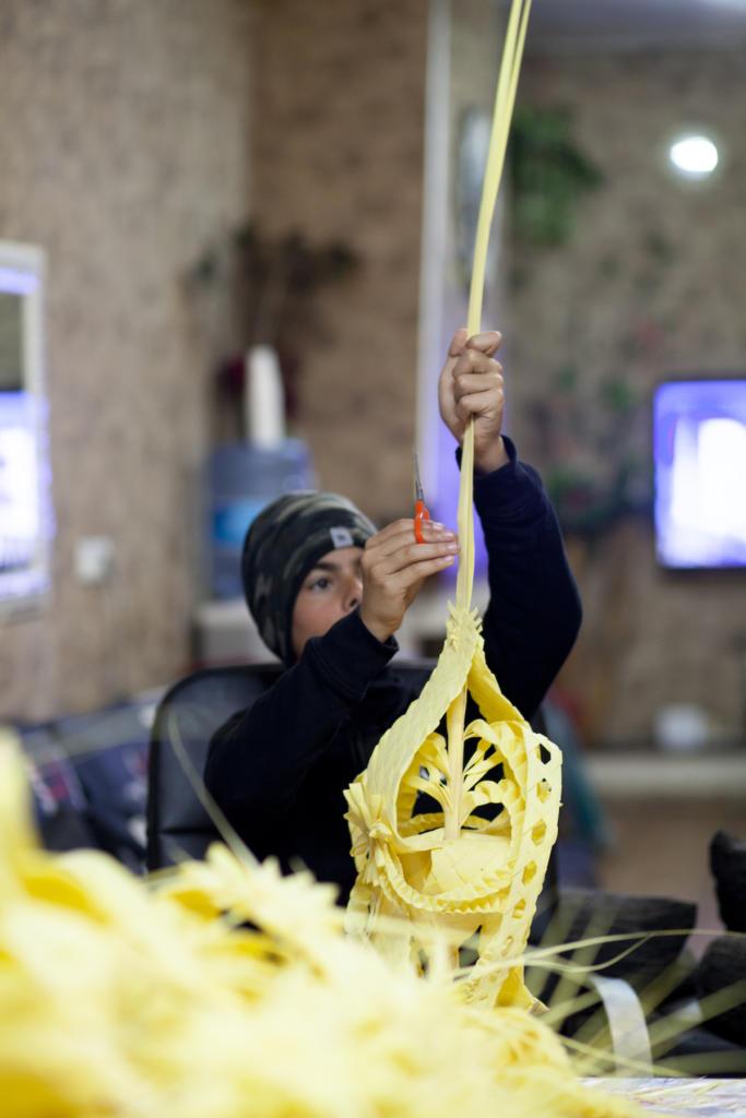 Les palmes artesanals, una tradició que passa de generació a generació / Victòria Rovira