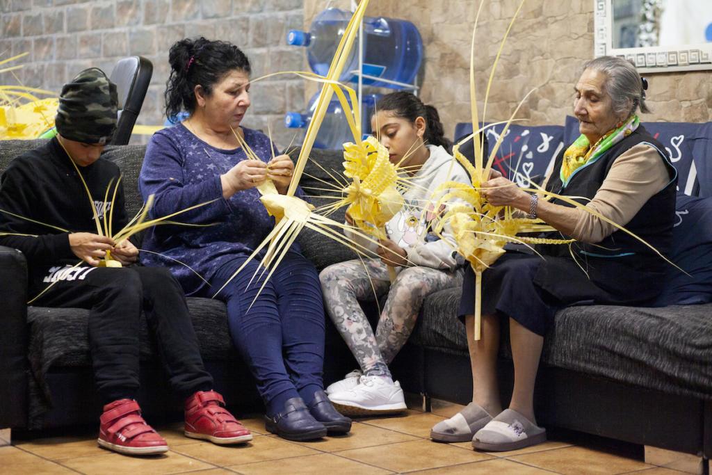 Les palmes, una tradició que passa de generació a generació / Victòria Rovira
