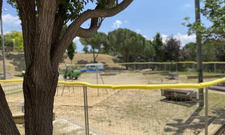Renovació del parc infantil de la Roureda / D.S.