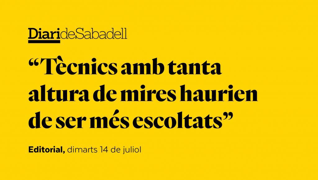 Sabadell, a l'avantguarda