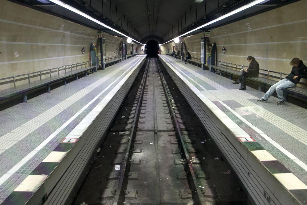 L'estació el 2008 amb el nou aspecte, després de la rehabilitació feta el 1991