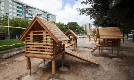 La plaça dels Tallarets és un dels espais que s'està transformant integralment / victòria rovira