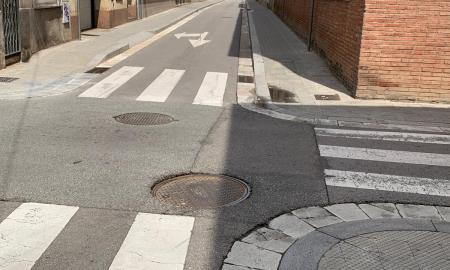 carrer de montserrat i carrer de Sant Pau