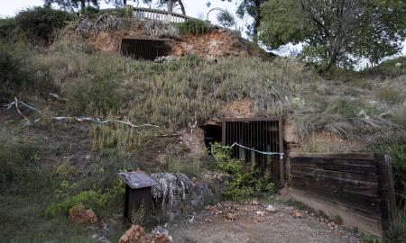 L'estat actual de les coves de Sant Oleguer / VICTÒRIA ROVIRA