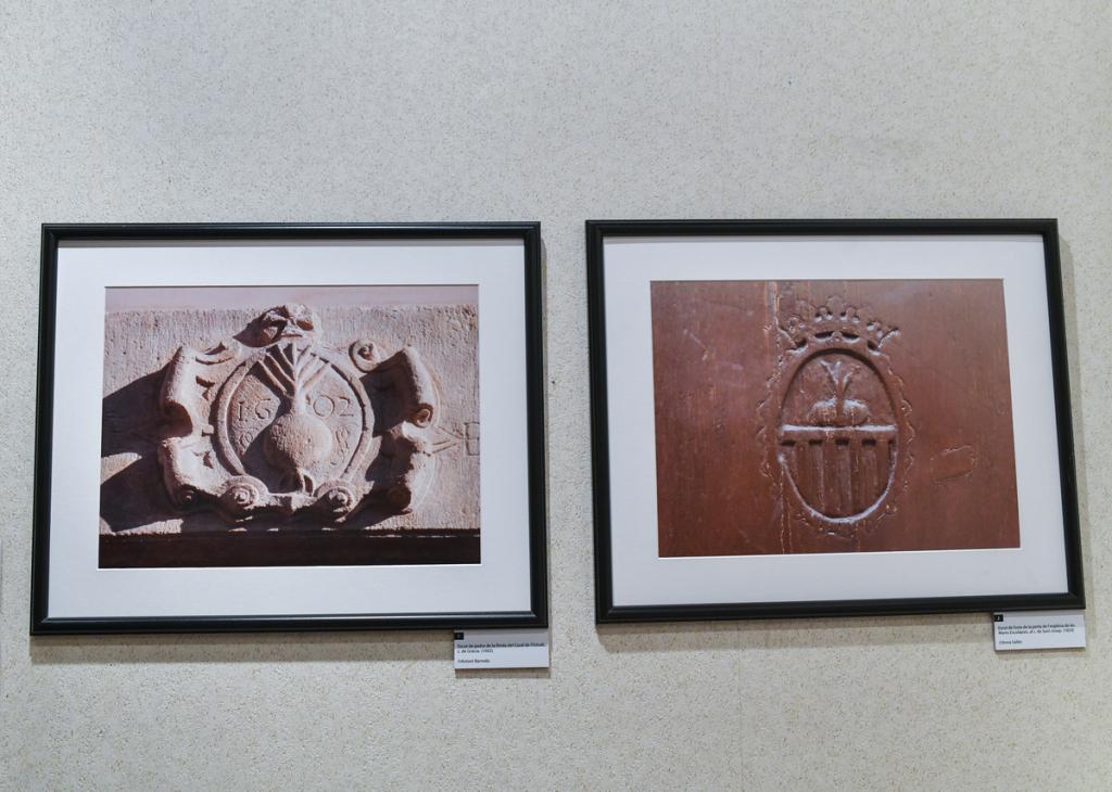 'Imatges d'un escut ceballut' / LL. FRANCO