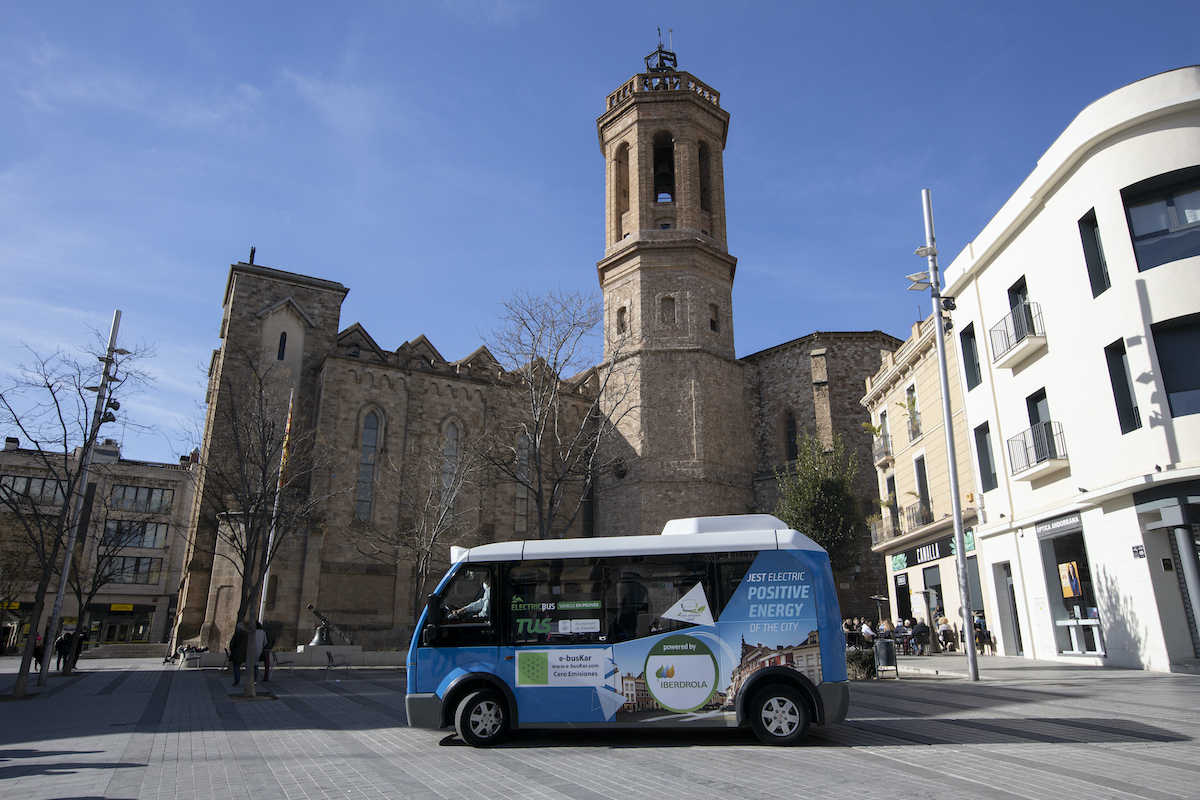 Autobús elèctric TUS Sabadell / VR