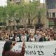 Centenars de sabadellenques es van concentrar en contra de la sentència