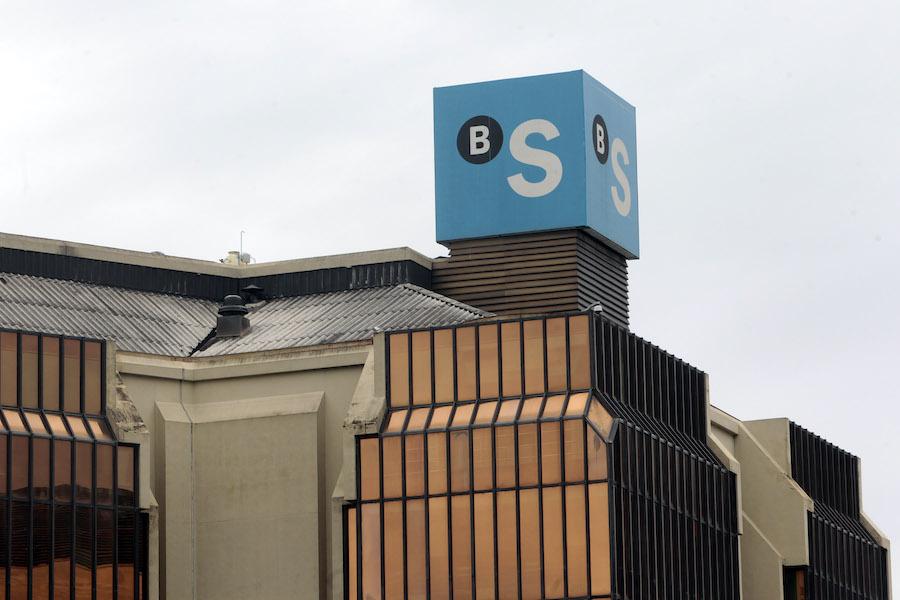 L'edifici del Banc Sabadell a la plaça de Catalunya de la ciutat