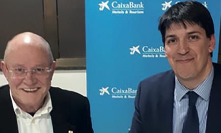 El president de la FIHR, i el director del Centre d'Empreses del Penedès-Garraf