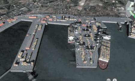 Una simulació d'una terminal a través de la plataforma digital creada per IDP
