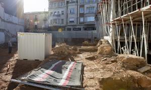 Les excavacions arqueològiques s'estan duent a terme a la Via de Massagué