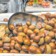 La castanya gallega va a 6,5 euros/kg a Fruites Diego