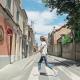 El carrer Llobet acull l'escola Enric Casassas
