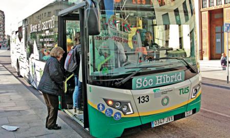 Bona part dels usuaris del bus són dones
