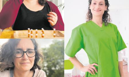 La Jovita, la Marta i l'Aida són emprenedores de la ciutat que han decidit apostar pel seu propi negoci