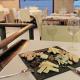 Tapa i copa de vi al restaurant Racó del Campanar
