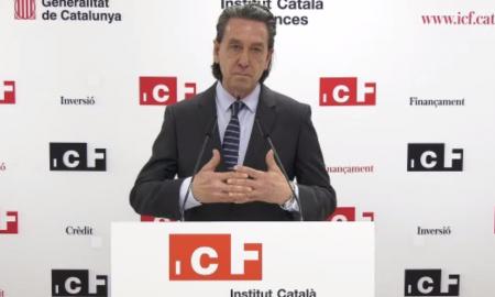 Víctor Guardiola, durant la presentació / DS