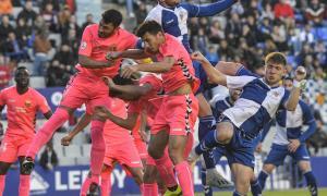 El Sabadell-Llagostera va ser l'últim partit amb públic a la Nova Creu Alta. Dilluns es complirà just un any