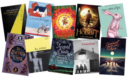 Et recomanem 10 llibres per adolescents aquest Sant Jordi 2021
