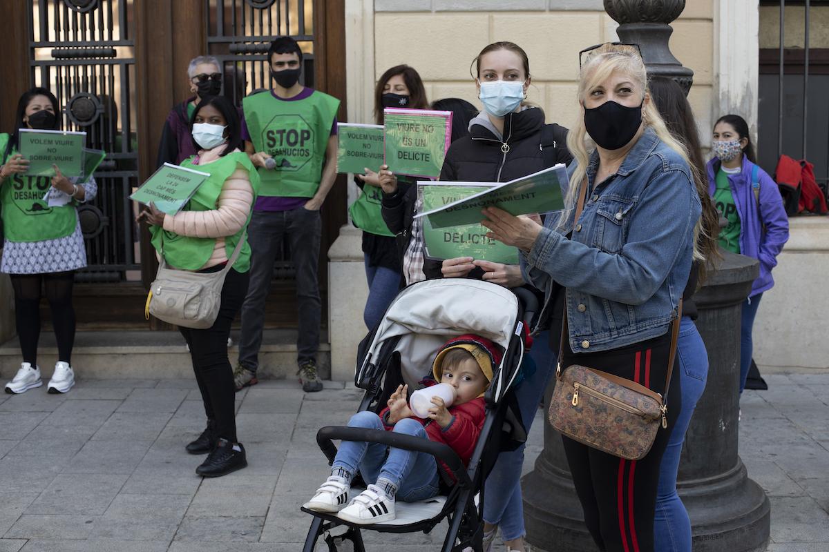 Membres de la PAH de Sabadell / Victòria Rovira