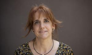 Eva Massip, propietària de la merceria Mil Punts / Victòria Rovira