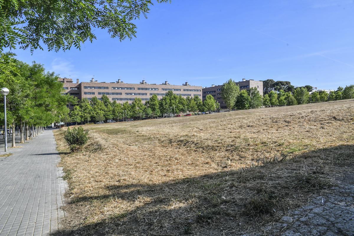 El solar on s'ubicarà el pavelló Oest dels Merinals / Lluís Franco