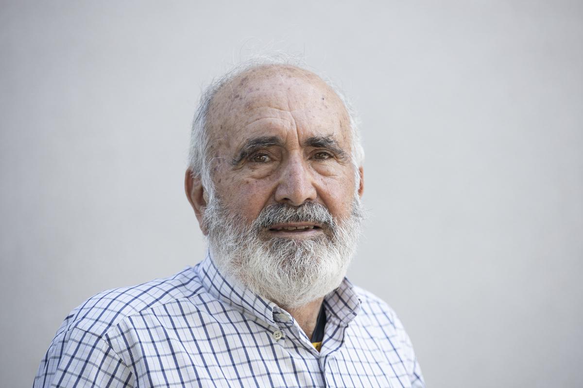Juan Ruiz, ciclista veterà de 80 anys / Victòria Rovira