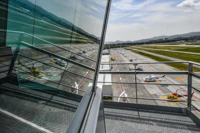 La pista de l'Aeroport de Sabadell / Lluís Franco