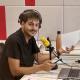 Jordi Ramoneda, treballant a l'estudi de Catalunya Ràdio / Cedida