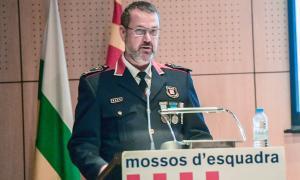 El Mosso d'Esquadra Enric Cervelló, cap de l'ABP de Sabadell / LLUÍS FRANCO